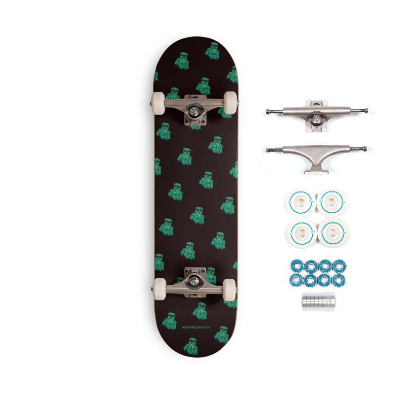 War Pigs Accessories Skateboard by DRACOIMAGEM