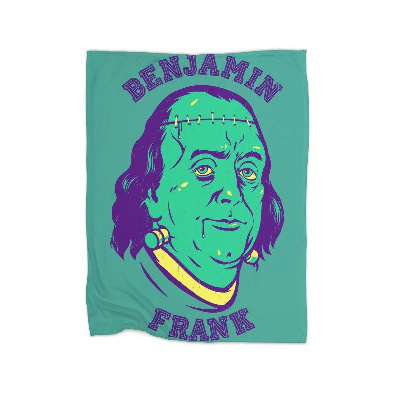 Benjamin Frank Home Blanket by dracoimagem's Artist Shop