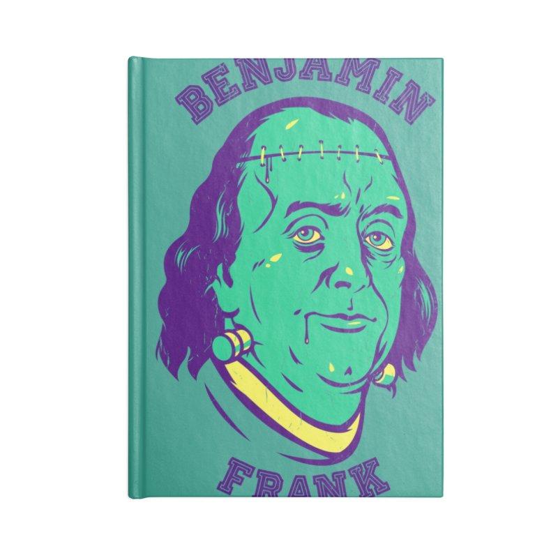 Benjamin Frank Accessories Notebook by dracoimagem's Artist Shop