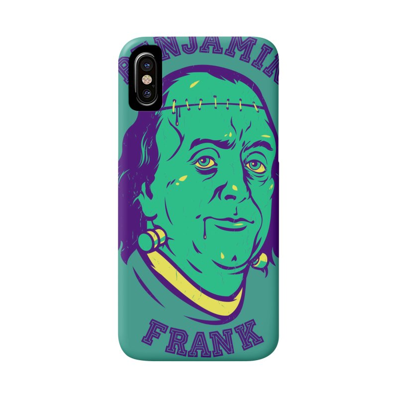 Benjamin Frank Accessories Phone Case by dracoimagem's Artist Shop