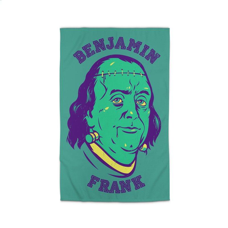 Benjamin Frank Home Rug by dracoimagem's Artist Shop