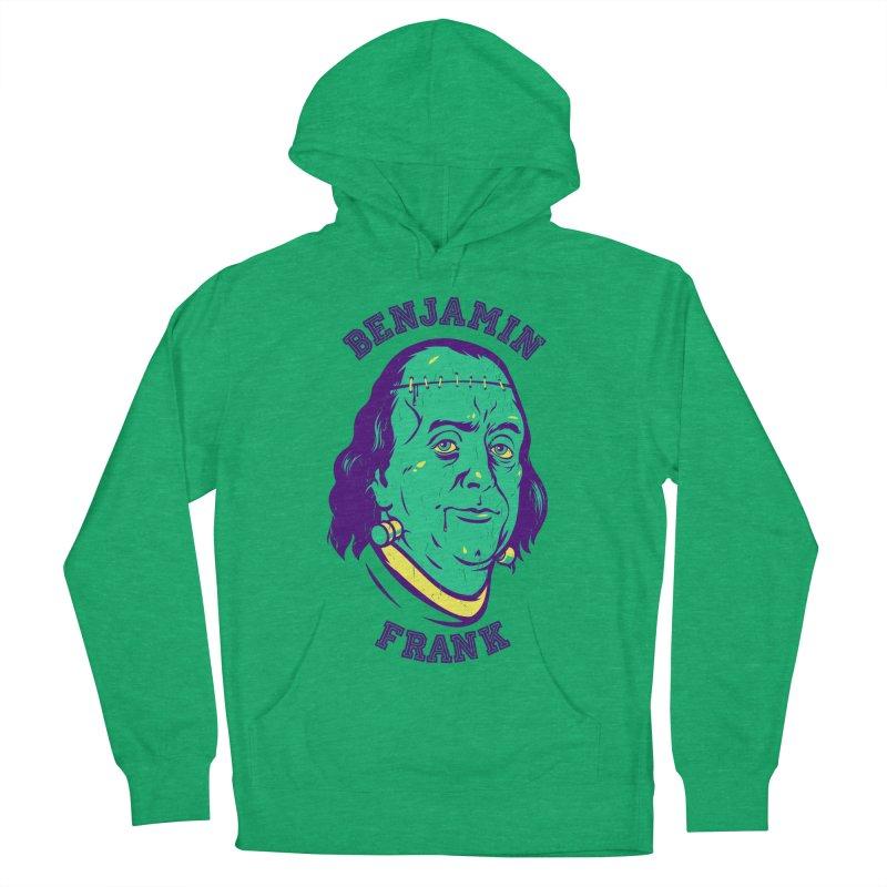 Benjamin Frank Men's Pullover Hoody by dracoimagem's Artist Shop