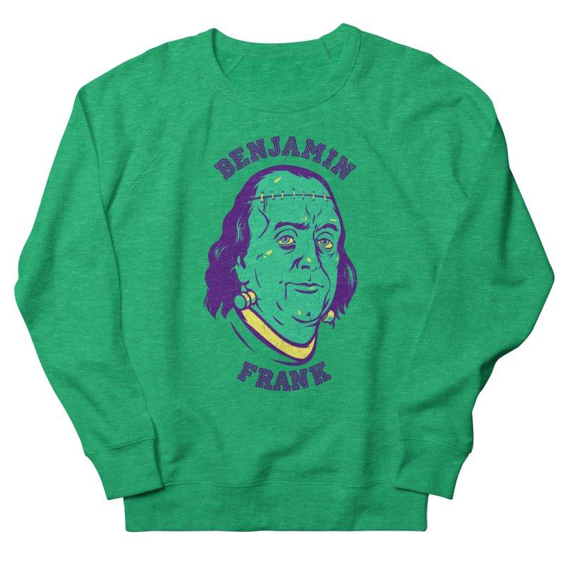 Benjamin Frank Men's Sweatshirt by dracoimagem's Artist Shop