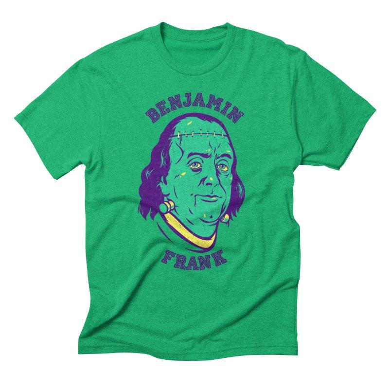 Benjamin Frank Men's Triblend T-shirt by dracoimagem's Artist Shop