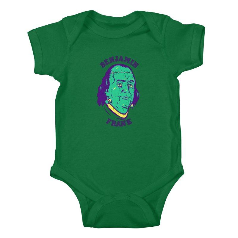 Benjamin Frank Kids Baby Bodysuit by dracoimagem's Artist Shop