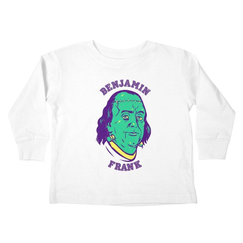 Benjamin Frank Kids Toddler Longsleeve T-Shirt by dracoimagem's Artist Shop