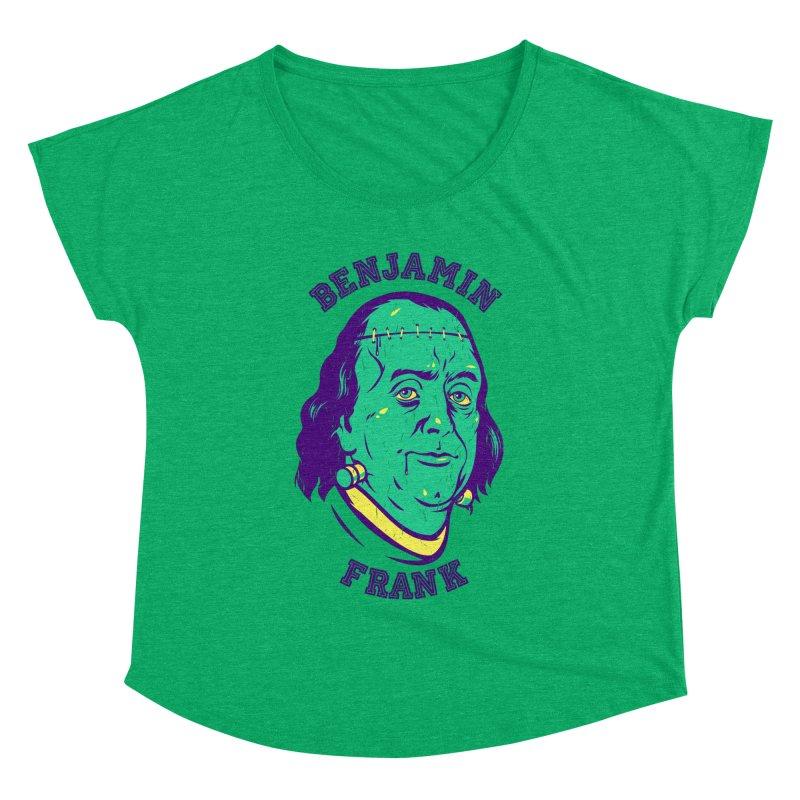 Benjamin Frank Women's Dolman by dracoimagem's Artist Shop