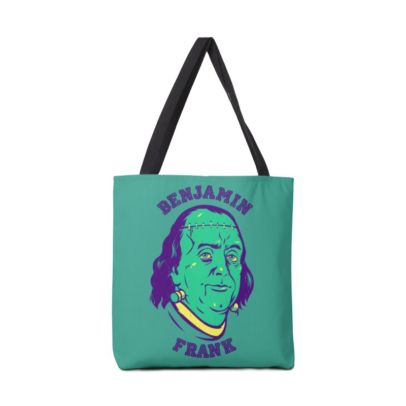 Benjamin Frank Accessories Bag by dracoimagem's Artist Shop