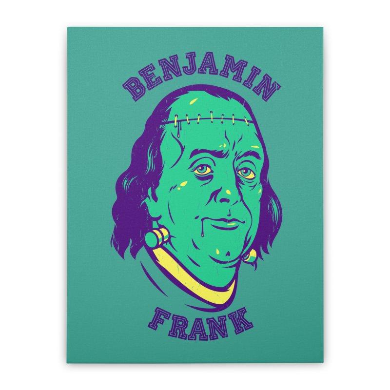 Benjamin Frank Home Stretched Canvas by dracoimagem's Artist Shop