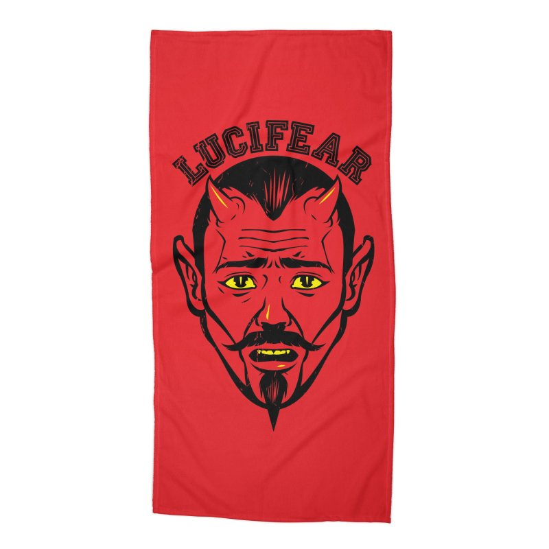 Lucifear Accessories Beach Towel by dracoimagem's Artist Shop