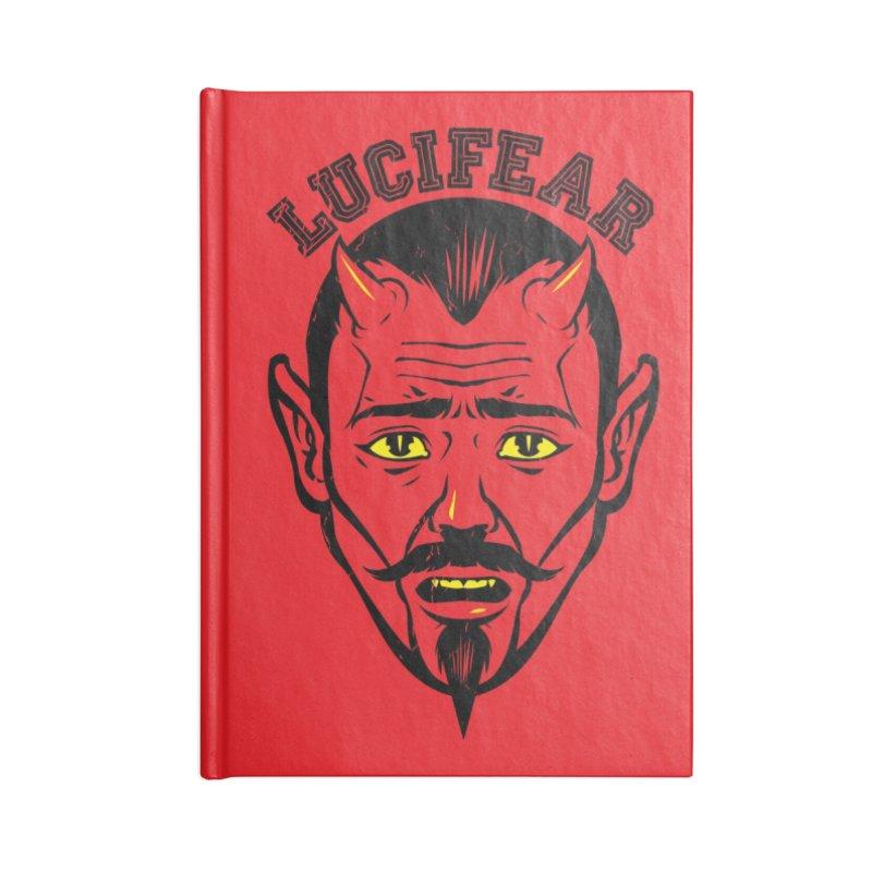 Lucifear Accessories Notebook by dracoimagem's Artist Shop