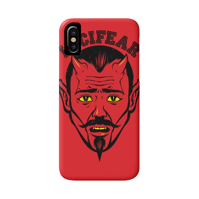 Lucifear Accessories Phone Case by dracoimagem's Artist Shop