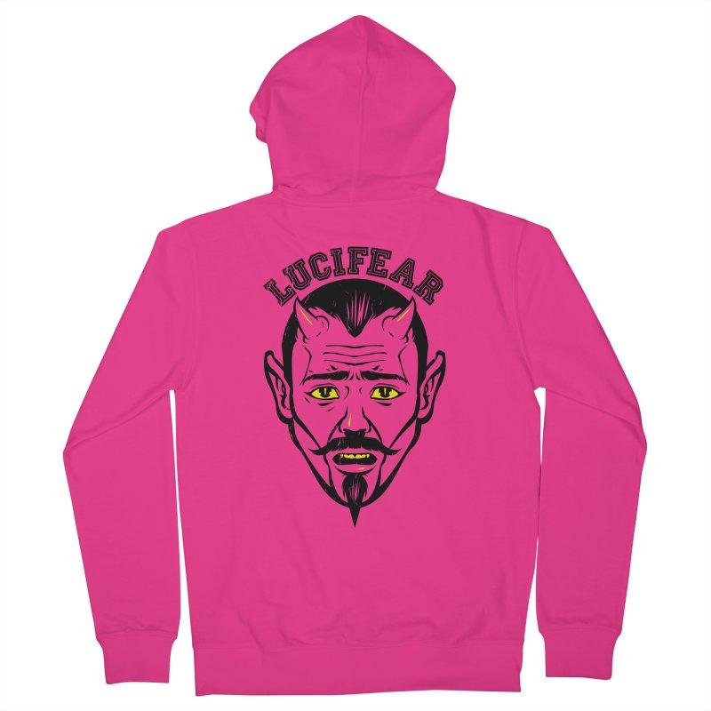 Lucifear Men's Zip-Up Hoody by dracoimagem's Artist Shop