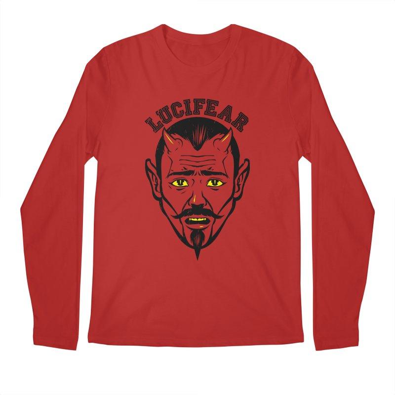 Lucifear Men's Longsleeve T-Shirt by dracoimagem's Artist Shop