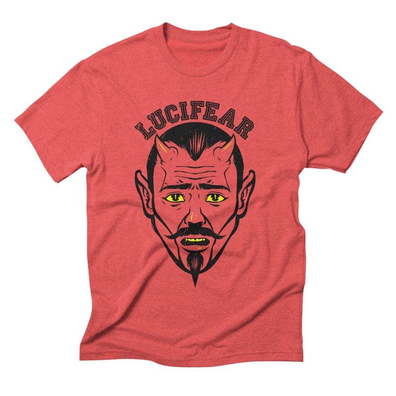 Lucifear Men's Triblend T-shirt by dracoimagem's Artist Shop