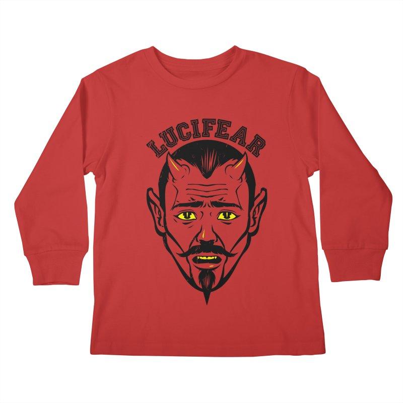 Lucifear Kids Longsleeve T-Shirt by dracoimagem's Artist Shop