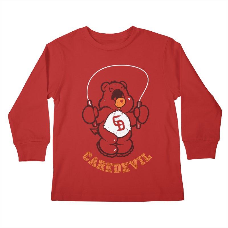 Caredevil Kids Longsleeve T-Shirt by dracoimagem's Artist Shop