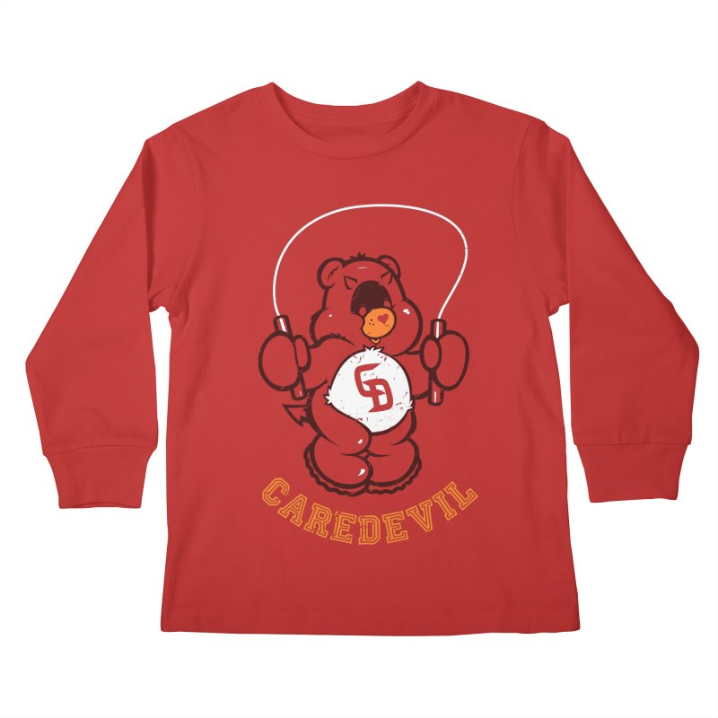 Caredevil Kids Longsleeve T-Shirt by dracoimagem's Artist Shop