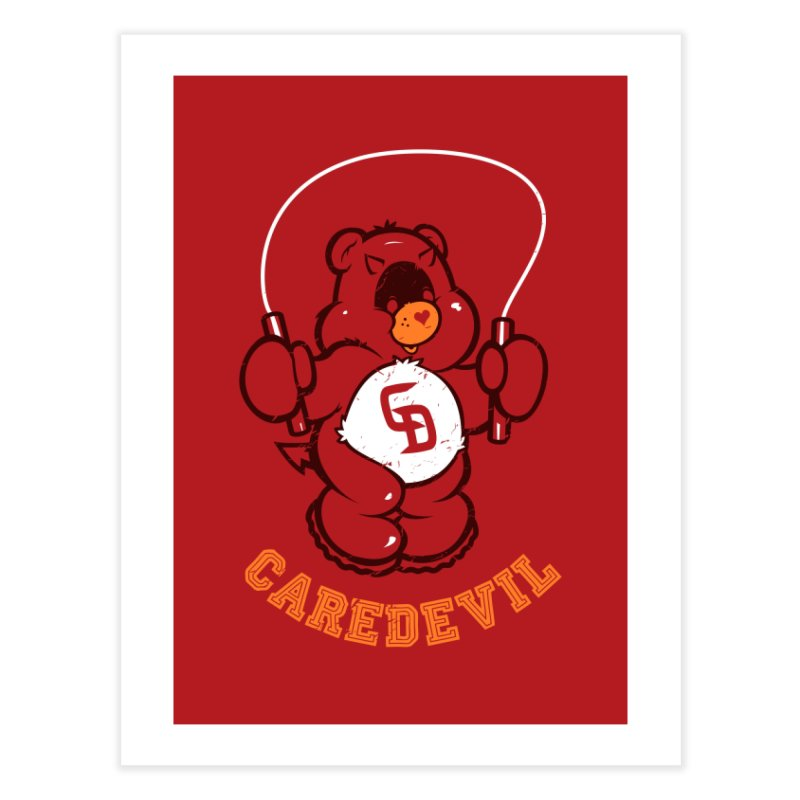 Caredevil Home Fine Art Print by dracoimagem's Artist Shop
