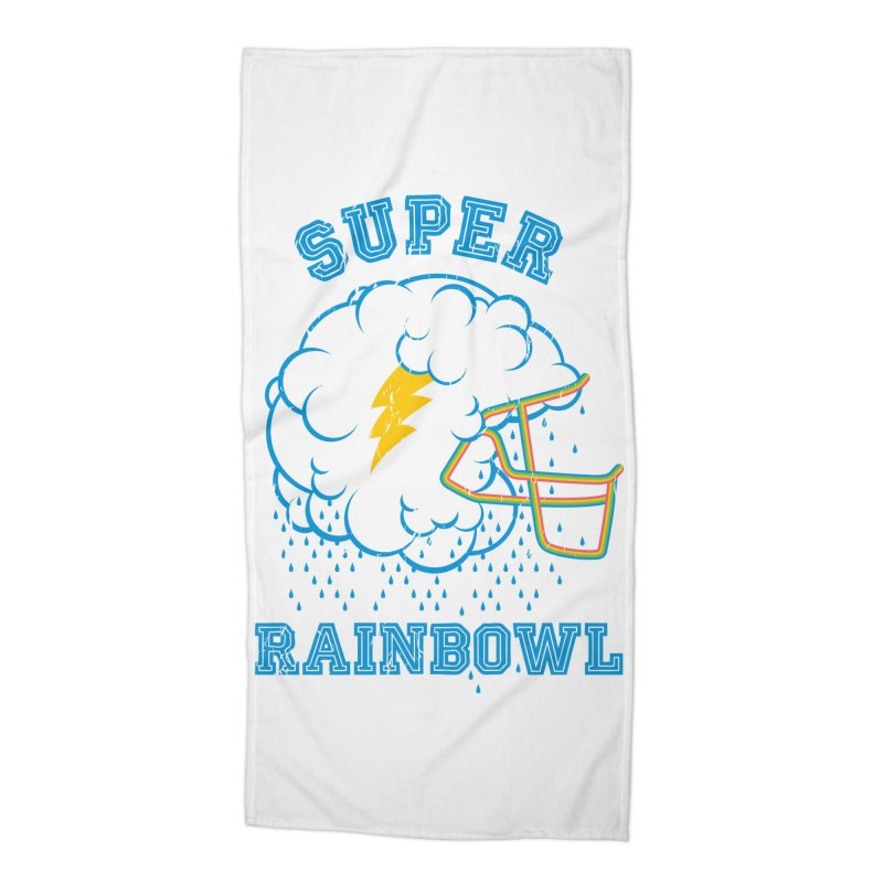 Super Rainbowl Accessories Beach Towel by dracoimagem's Artist Shop