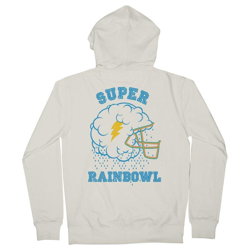 Super Rainbowl Men's Zip-Up Hoody by dracoimagem's Artist Shop
