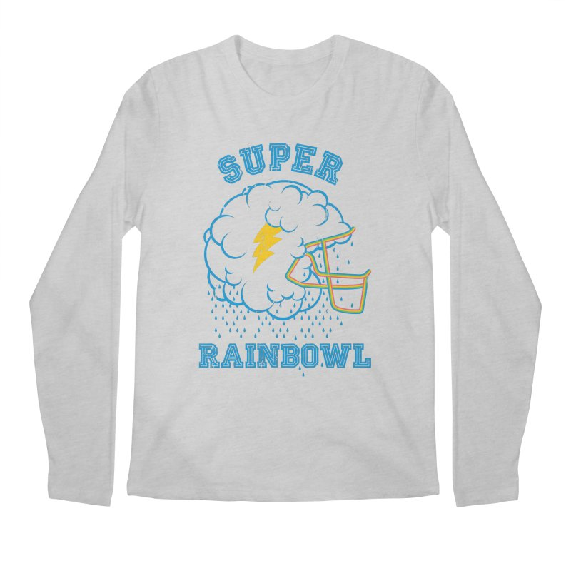 Super Rainbowl Men's Longsleeve T-Shirt by dracoimagem's Artist Shop