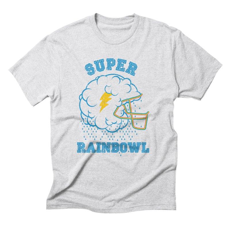 Super Rainbowl Men's Triblend T-Shirt by dracoimagem's Artist Shop