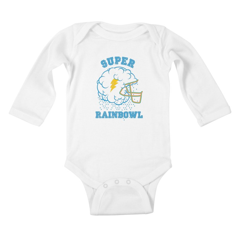 Super Rainbowl Kids Baby Longsleeve Bodysuit by dracoimagem's Artist Shop