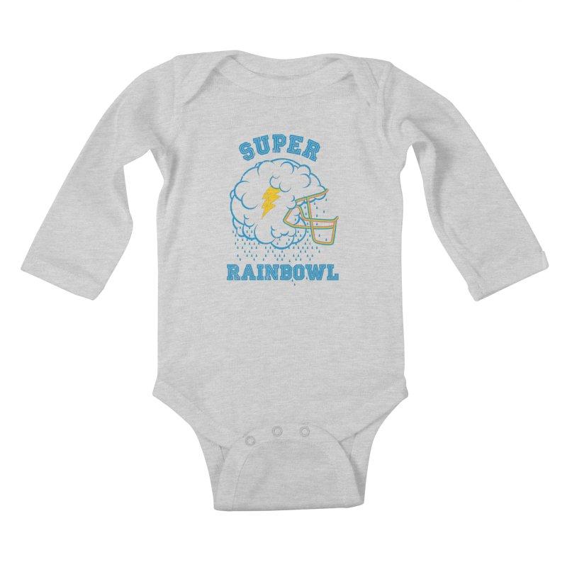 Super Rainbowl Kids Baby Longsleeve Bodysuit by dracoimagem's Artist Shop