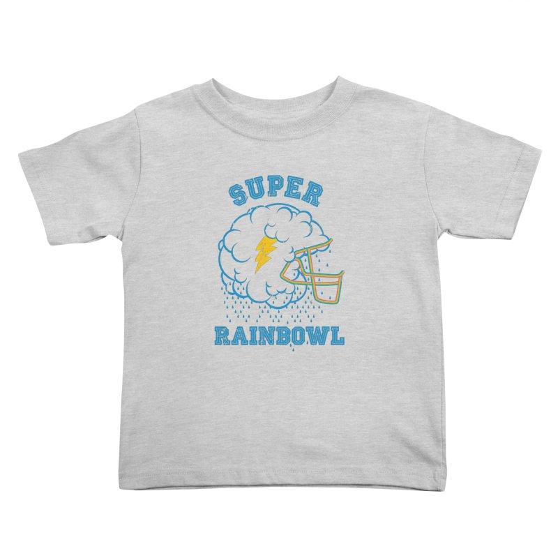 Super Rainbowl Kids Toddler T-Shirt by dracoimagem's Artist Shop