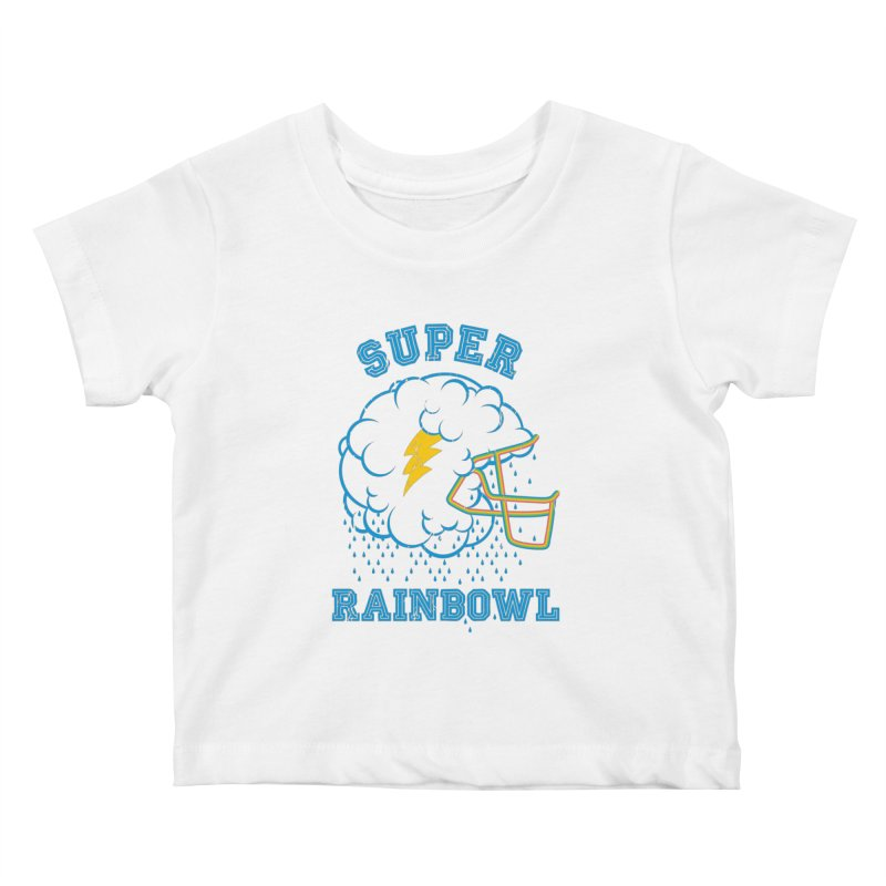 Super Rainbowl Kids Baby T-Shirt by dracoimagem's Artist Shop
