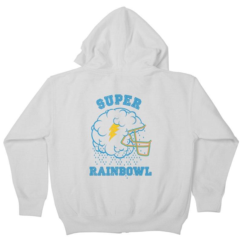 Super Rainbowl Kids Zip-Up Hoody by dracoimagem's Artist Shop