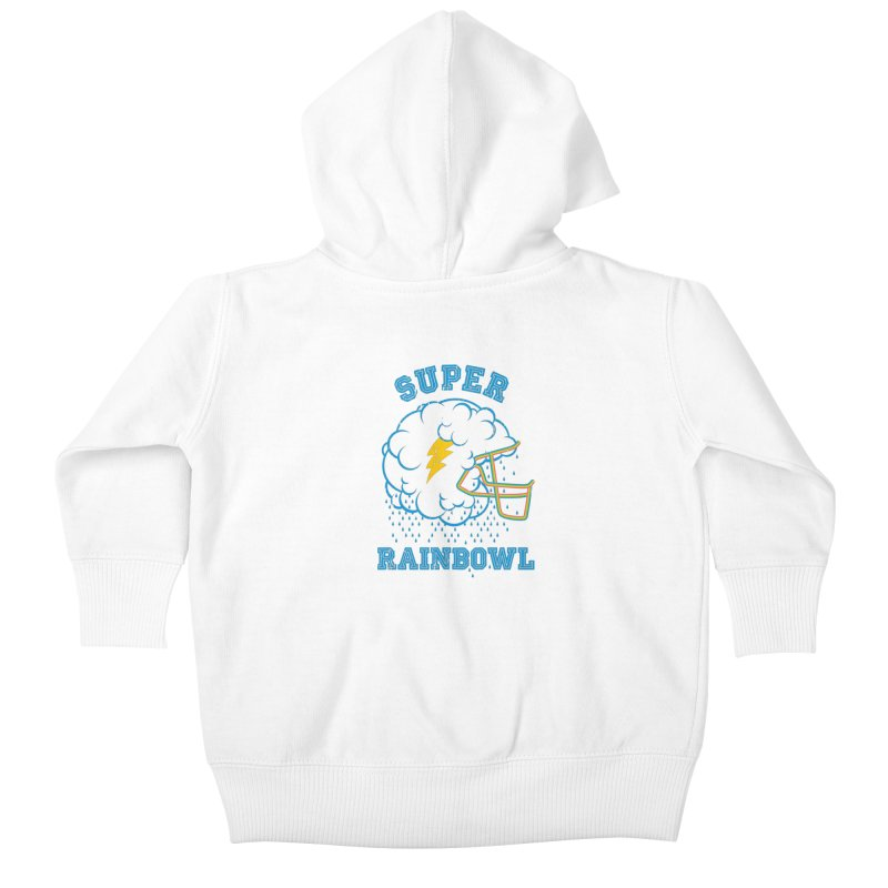 Super Rainbowl Kids Baby Zip-Up Hoody by dracoimagem's Artist Shop