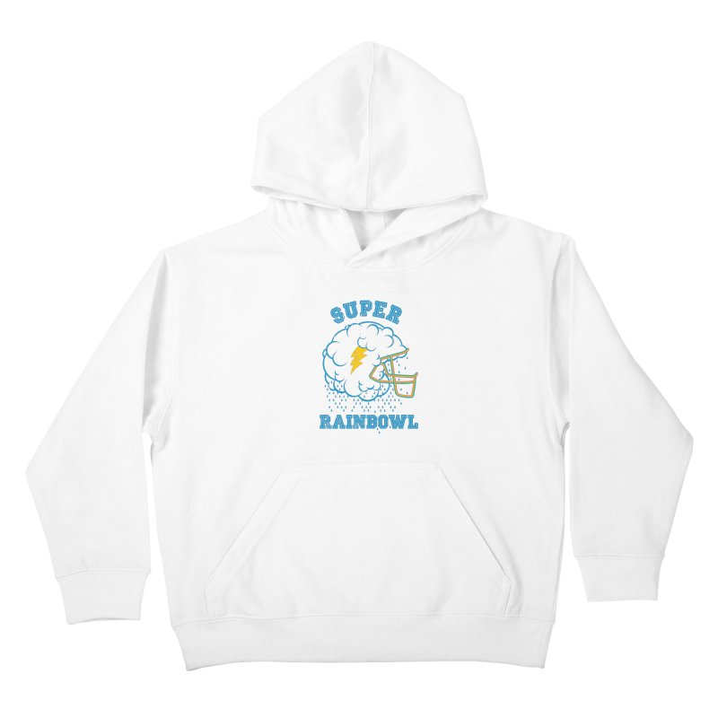 Super Rainbowl Kids Pullover Hoody by dracoimagem's Artist Shop