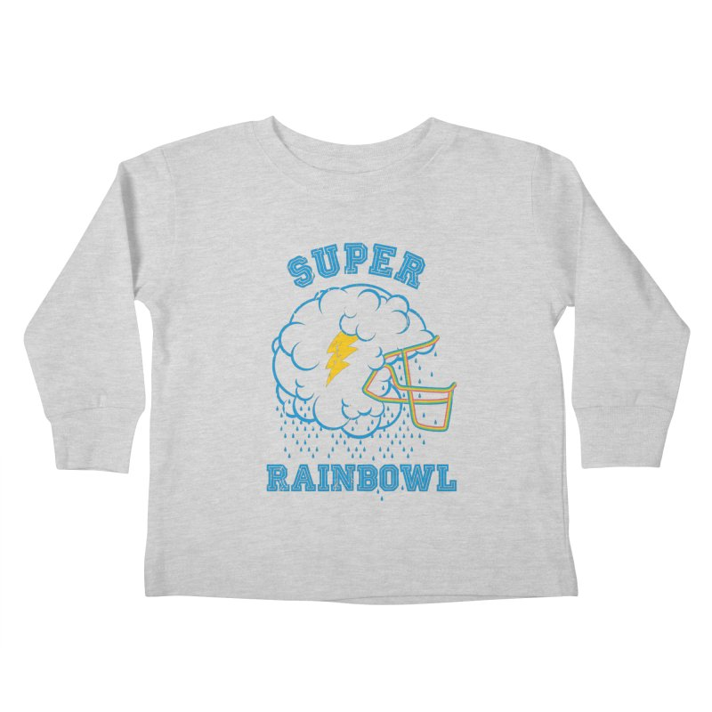 Super Rainbowl Kids Toddler Longsleeve T-Shirt by dracoimagem's Artist Shop