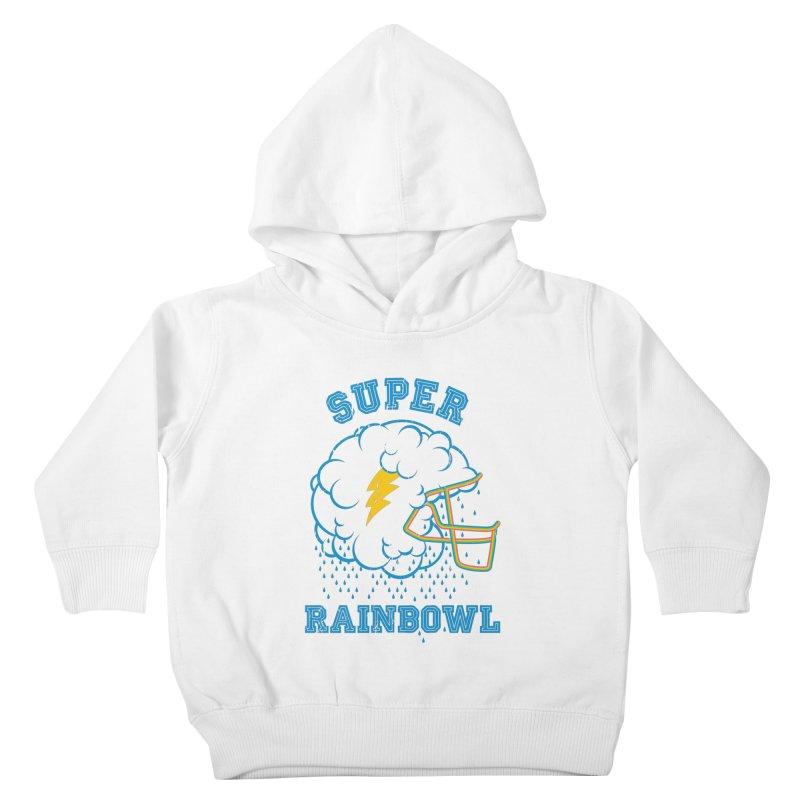 Super Rainbowl Kids Toddler Pullover Hoody by dracoimagem's Artist Shop