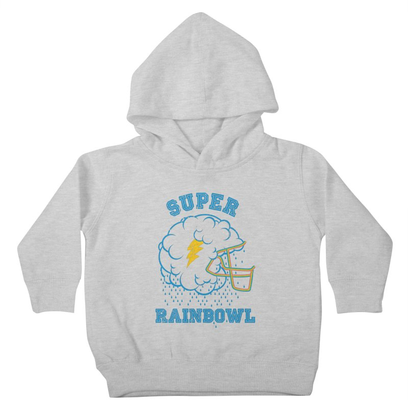 Super Rainbowl Kids Toddler Pullover Hoody by dracoimagem's Artist Shop