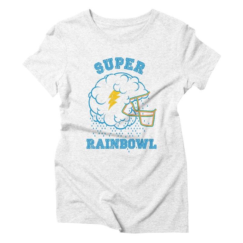 Super Rainbowl Women's Triblend T-shirt by dracoimagem's Artist Shop