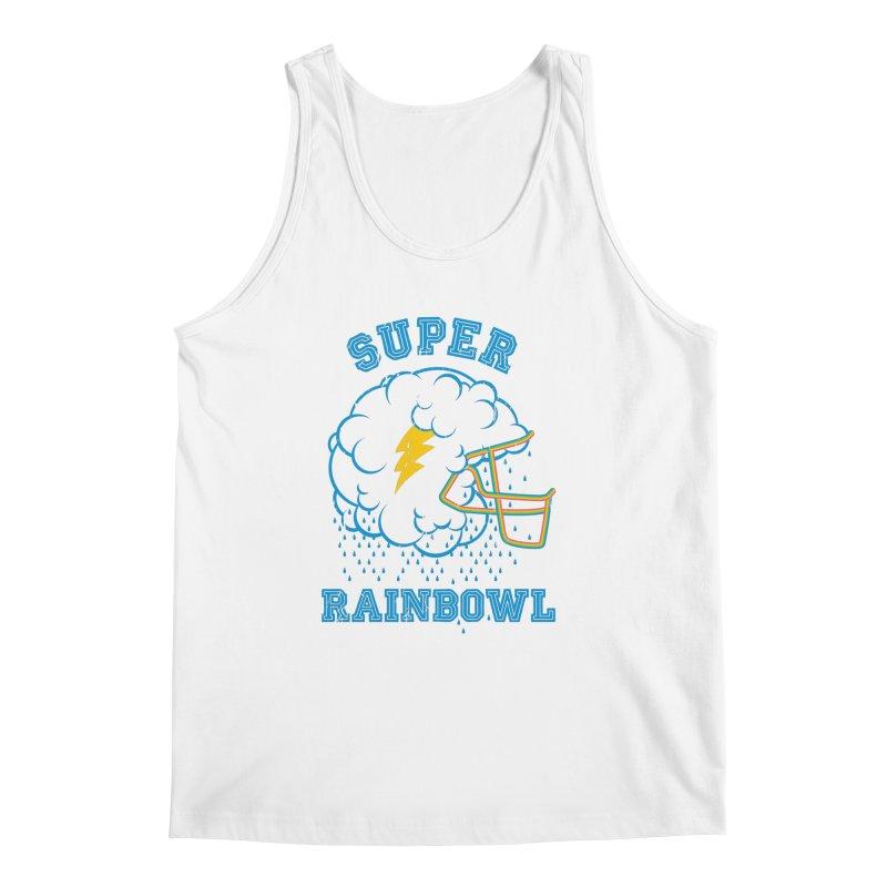 Super Rainbowl Men's Tank by dracoimagem's Artist Shop
