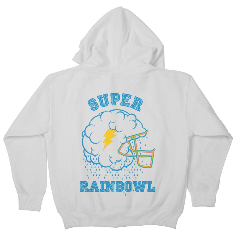 Super Rainbowl Kids Zip-Up Hoody by dracoimagem's Artist Shop