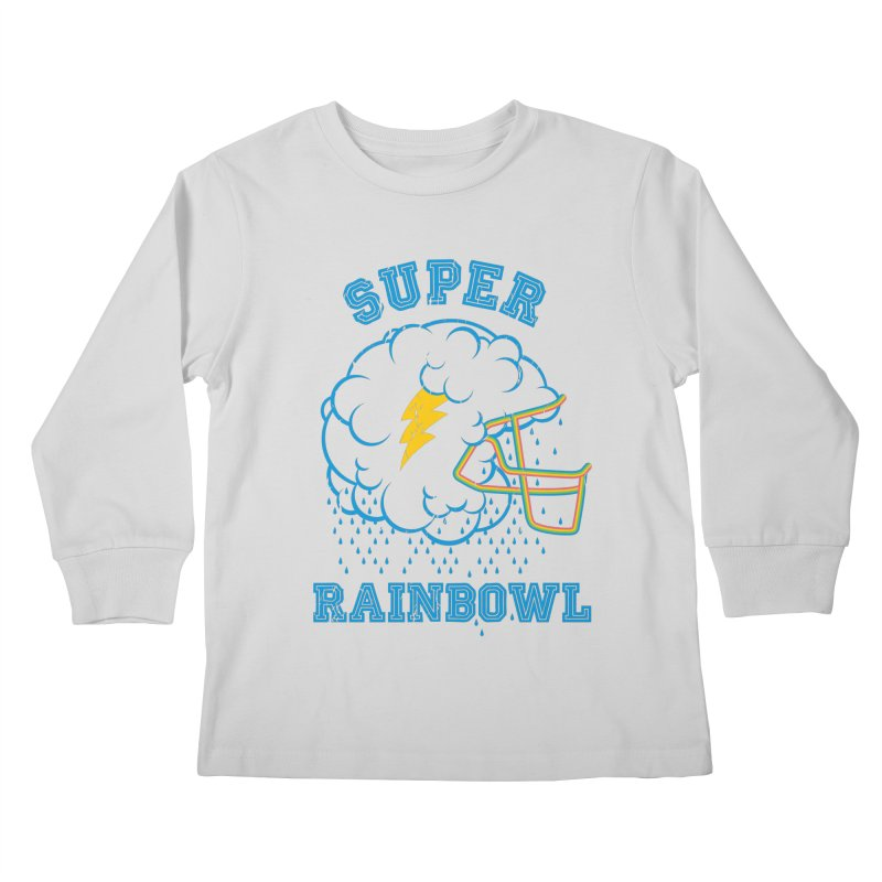Super Rainbowl Kids Longsleeve T-Shirt by dracoimagem's Artist Shop