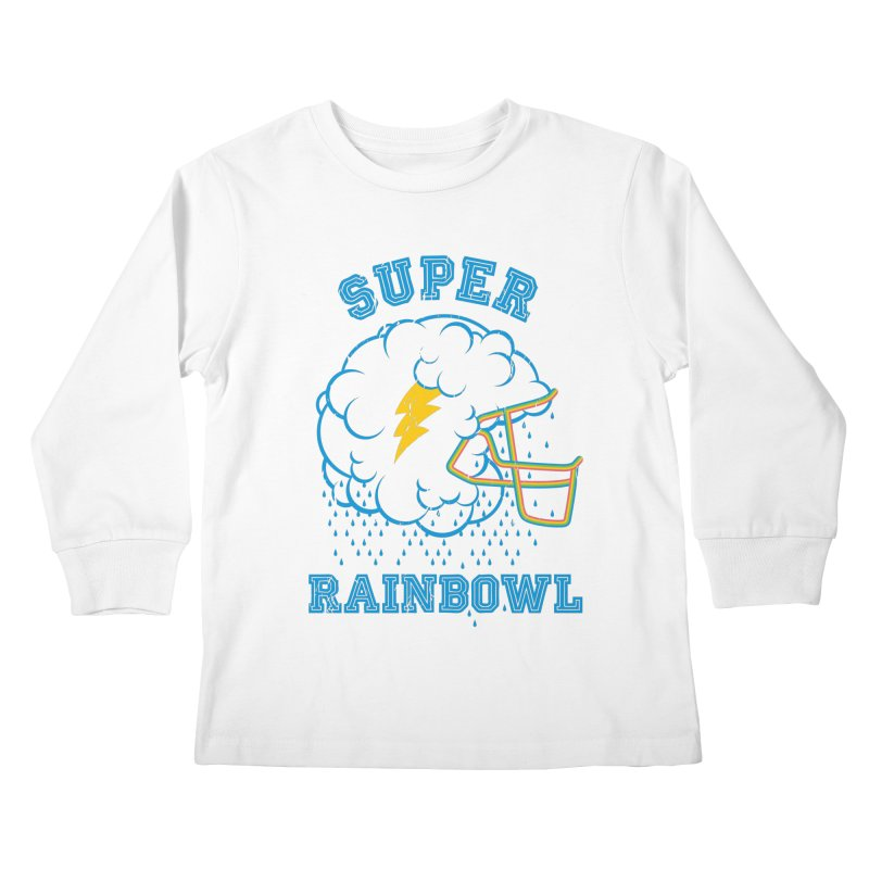 Super Rainbowl Kids Longsleeve T-Shirt by dracoimagem's Artist Shop