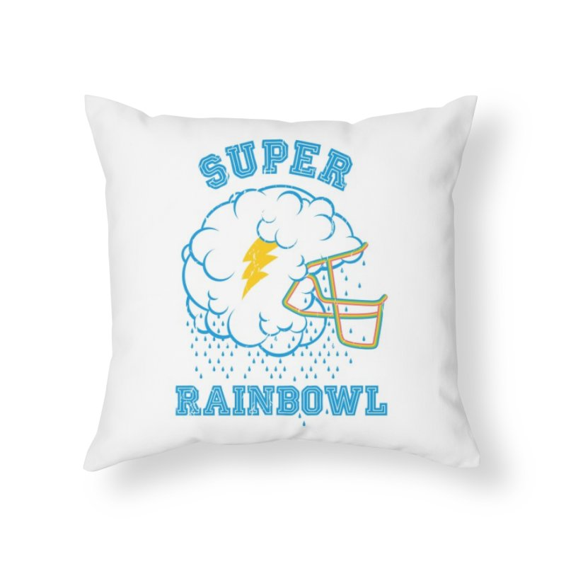 Super Rainbowl Home Throw Pillow by dracoimagem's Artist Shop