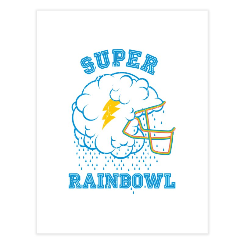 Super Rainbowl Home Fine Art Print by dracoimagem's Artist Shop