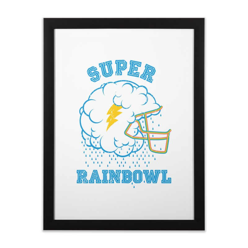 Super Rainbowl Home Framed Fine Art Print by dracoimagem's Artist Shop