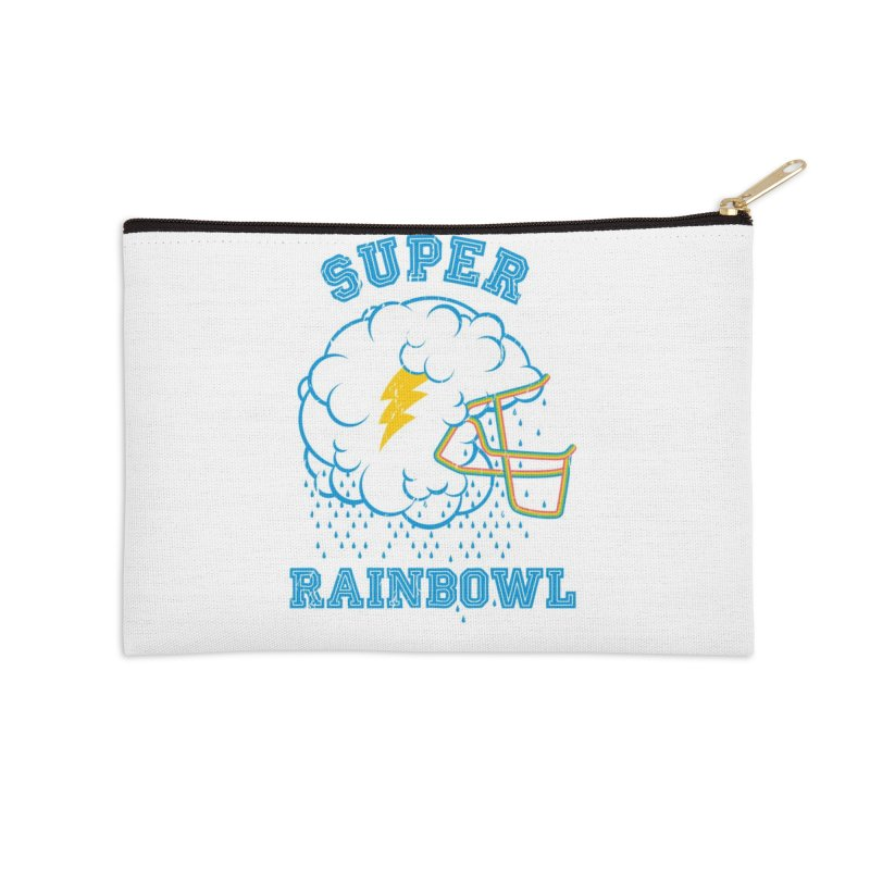 Super Rainbowl Accessories Zip Pouch by dracoimagem's Artist Shop