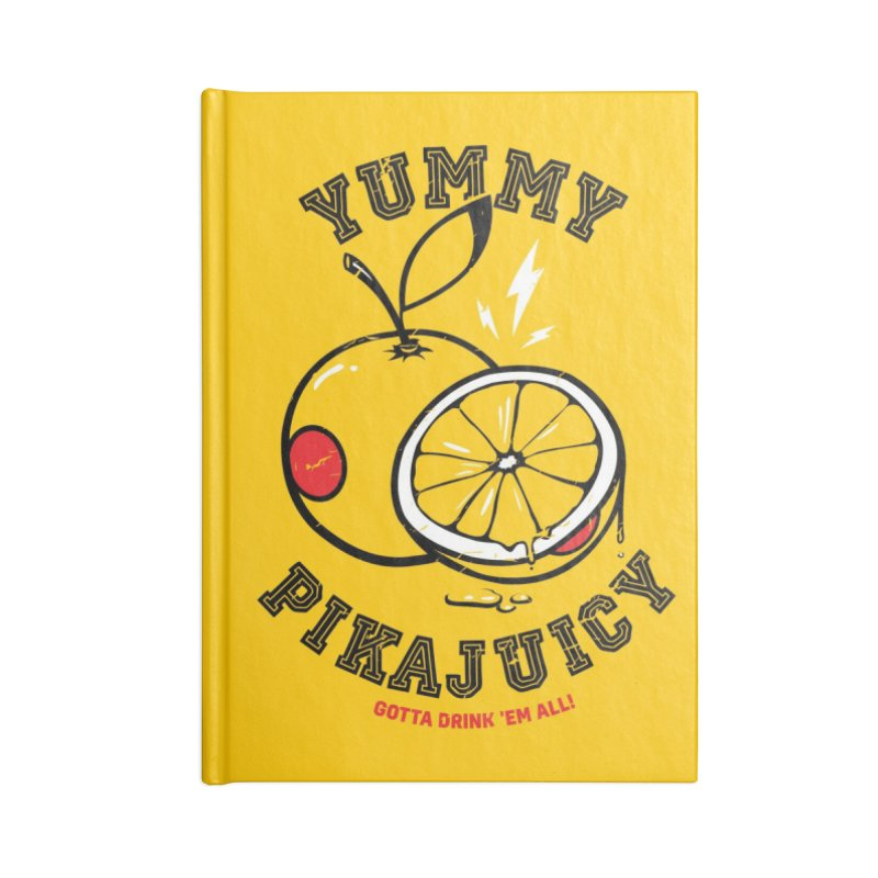 Pikajuicy Accessories Notebook by dracoimagem's Artist Shop