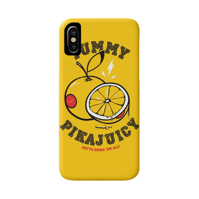 Pikajuicy Accessories Phone Case by dracoimagem's Artist Shop