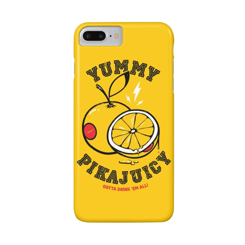 Pikajuicy Accessories Phone Case by dracoimagem's Artist Shop