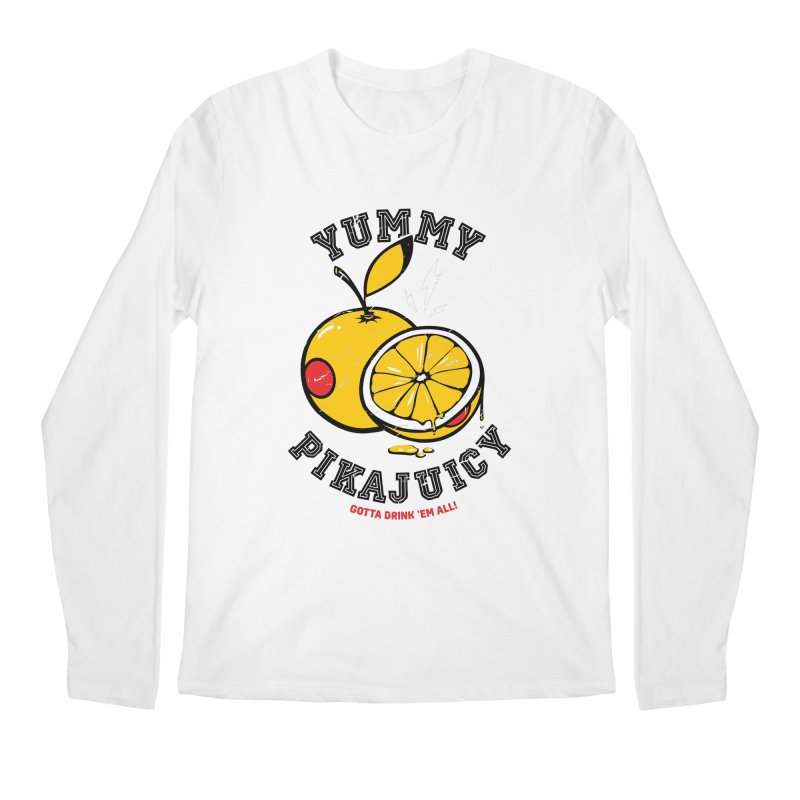 Pikajuicy Men's Longsleeve T-Shirt by dracoimagem's Artist Shop